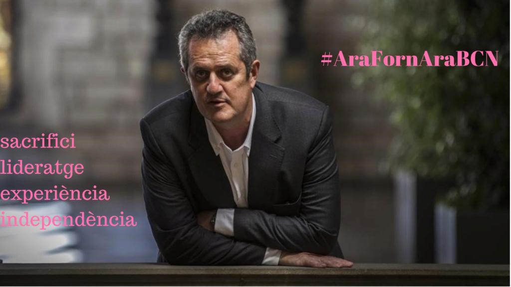 Campanya electoral de Joaquim Forn #AraBCN Cartel10