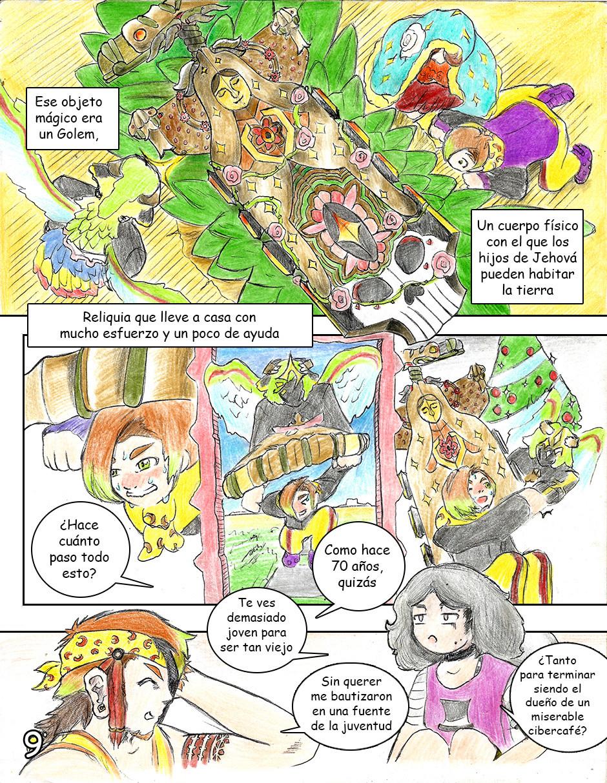 |SERIE MANGA| Agoncraft: Capitulo 1 ¡Actualizado! Pzeg_911