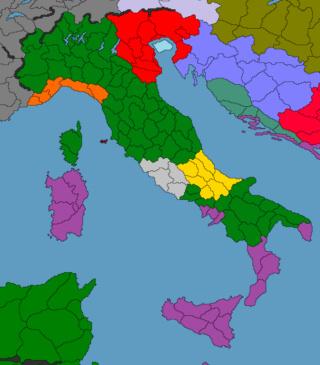 Guerre d'Italie V76810