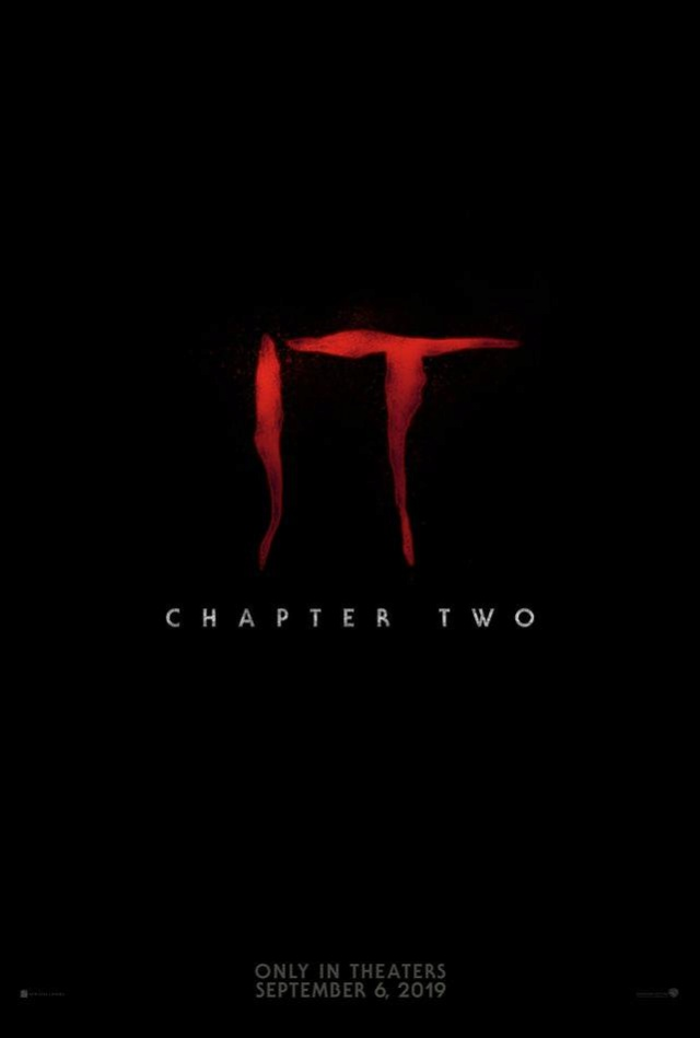 It: Chapter Two (Chastain / McAvoy / Hader / Ransone) (September 6, 2019) Pheh7t10