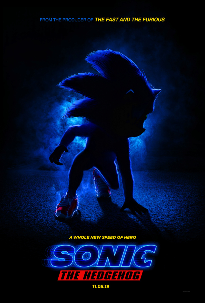 Sonic the Hedgehog (Delayed until February 14, 2020 to rework his nightmare fuel dental work) Sonic-11