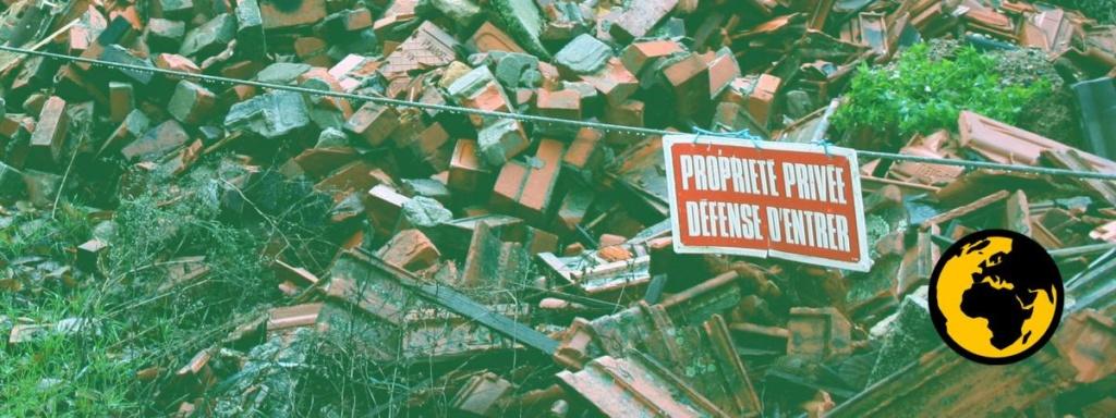 """#AlertePollution : l'amiante déchargé en pleine nature par des artisans, """"une bombe à retardement"""" 16693710"""