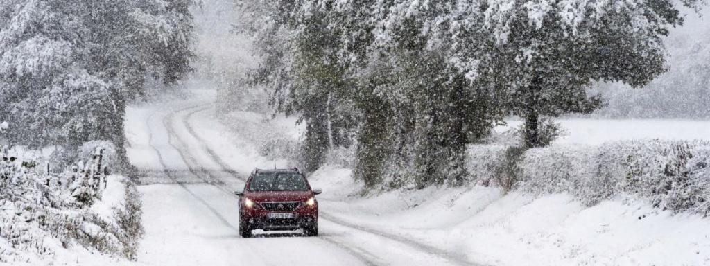 """""""C'est un front qui va circuler d'ouest en est"""" : entre 5 et 10 cm de neige attendus mardi sur une bonne partie de la France 16866310"""