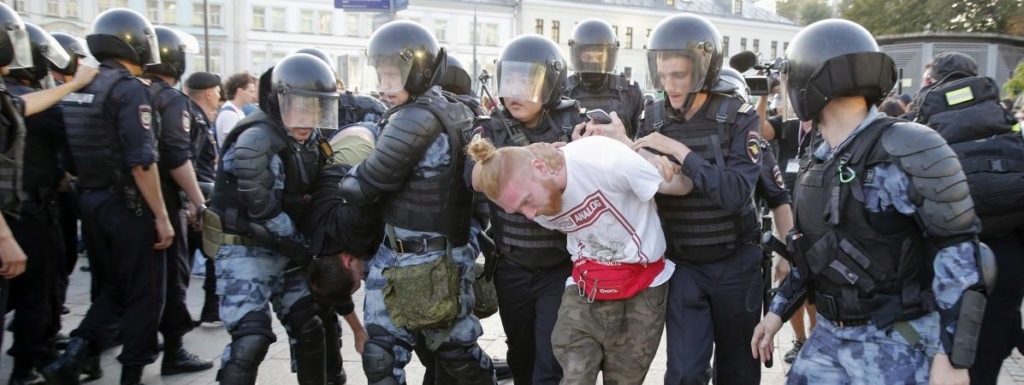 """Manifestation réprimée à Moscou : """"L'autorisation d'utiliser la violence a été prise par l'administration présidentielle"""" 19781110"""
