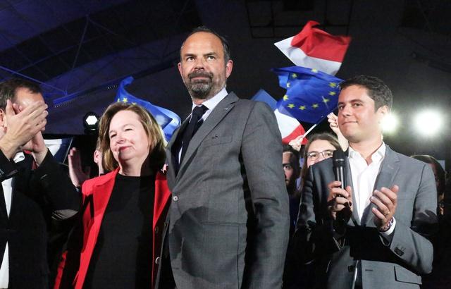 Elections européennes: «Rester calme et boire frais»... Edouard Philippe à la rescousse du soldat Loiseau à Caen 640x4488