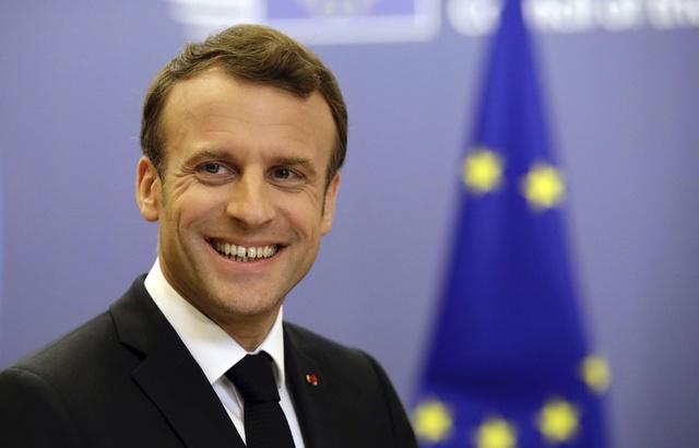 Européennes: Macron veut se placer au centre du jeu dans l'UE de demain 640x4557