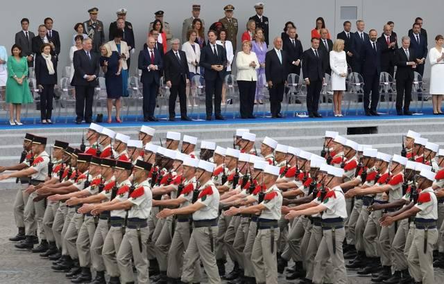 14-Juillet: Macron préside un défilé du 14 juillet tourné vers l'Europe 640x4658