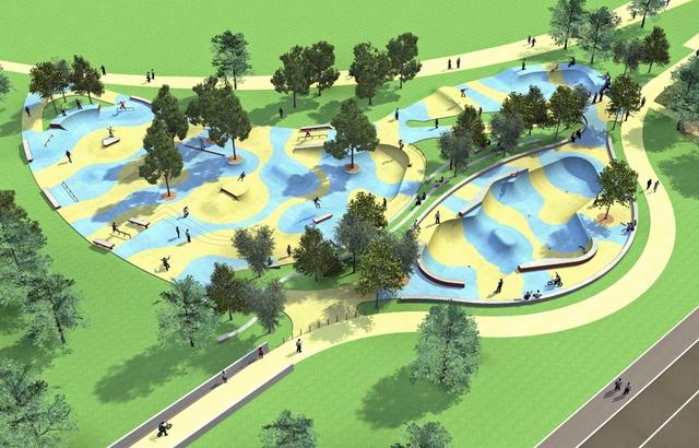 Vendée: Un skatepark géant à La Faute-sur-mer pour tourner la page Xynthia 640x4687