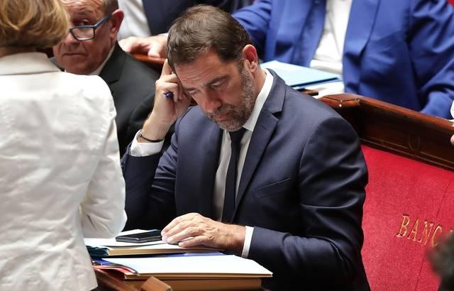 Permanence LREM dégradée: Christophe Castaner qualifie d'«attentat» le saccage du local à Perpignan 640x4701