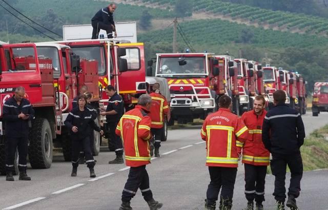 Incendie dans l'Aude: 900 hectares brûlés, plus de 500 pompiers toujours mobilisés 640x4733