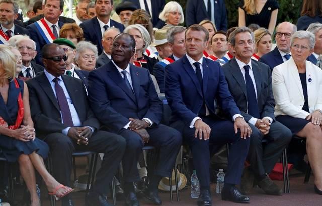 75 ans du débarquement de Provence: Emmanuel Macron lance un appel aux maires pour honorer les héros africains 640x4735