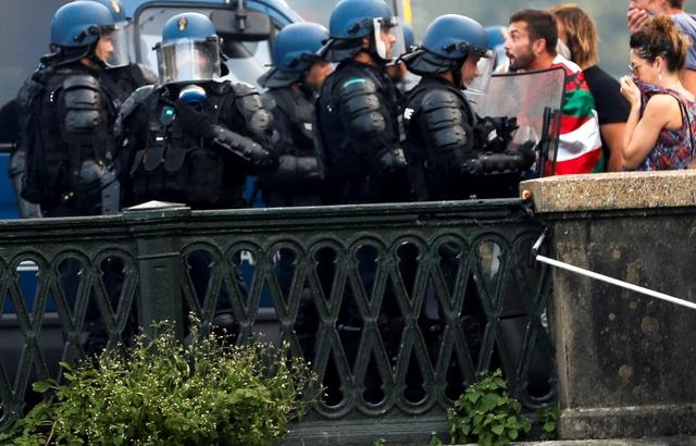 G7 à Biarritz: 68 interpellations samedi dans le cadre du dispositif de sécurité, 38 gardes à vue 640x4738