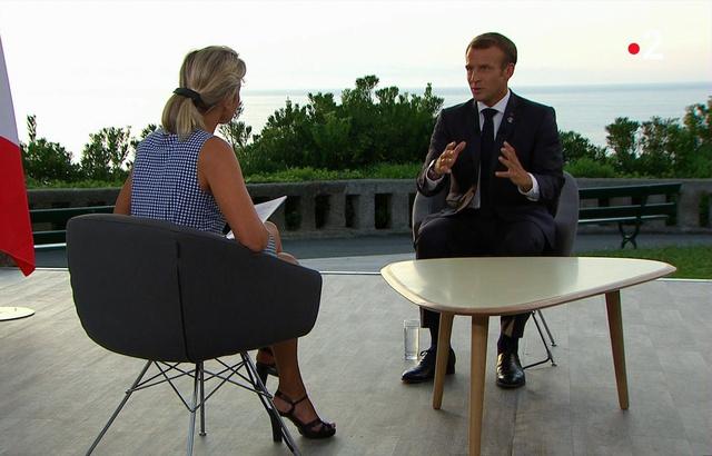 G7, retraites, Mercosur… Ce qu'il faut retenir de l'interview d'Emmanuel Macron sur France 2 640x4743