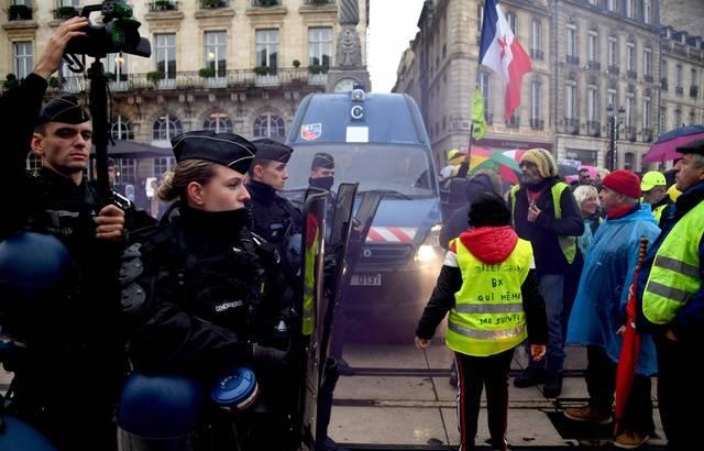 « Gilets jaunes » : 254 interpellations samedi dont 173 à Paris pour l'acte 53 640x4890