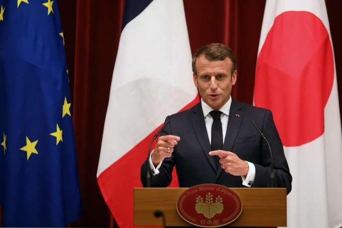 Emmanuel Macron fixe une « ligne rouge » sur le climat avant le G20 d'Osaka 6cb0ad10
