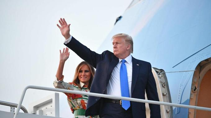 Un Royaume-Uni dans la tourmente déroule le tapis rouge à Donald Trump 7431b310