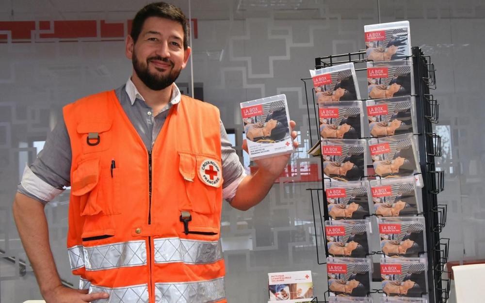 Hérault : la Croix-Rouge lance un coffret cadeau secourisme 79807610