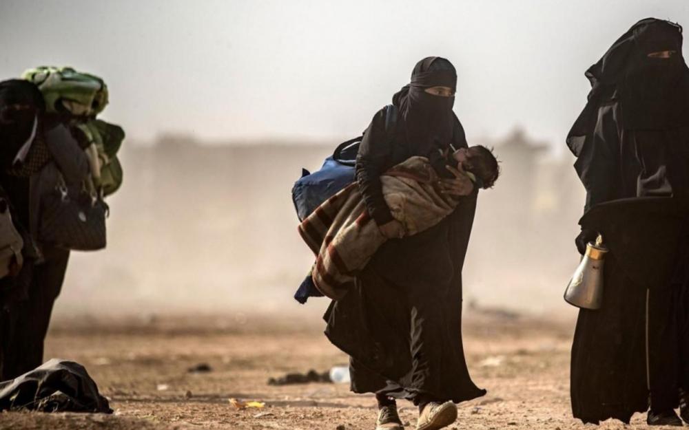 Des enfants de djihadistes rapatriés en France 80900610
