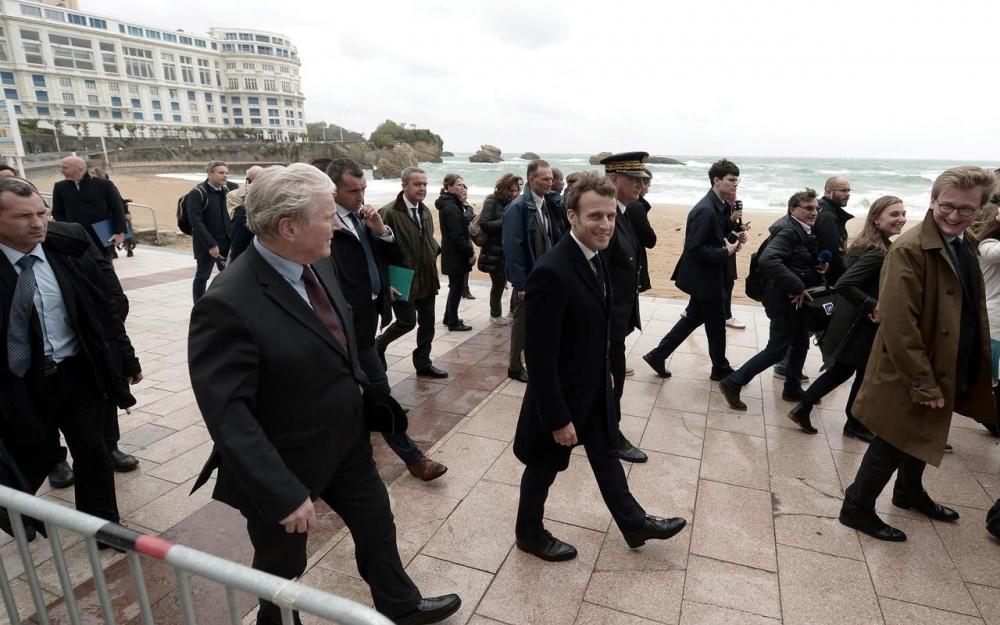 Biarritz se prépare au G7 80900710
