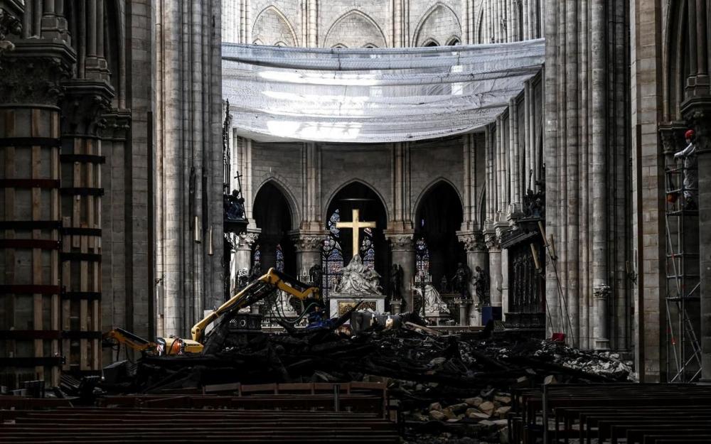 Horaire, retransmission… Tout savoir sur la première messe à Notre-Dame depuis l'incendie 80934910