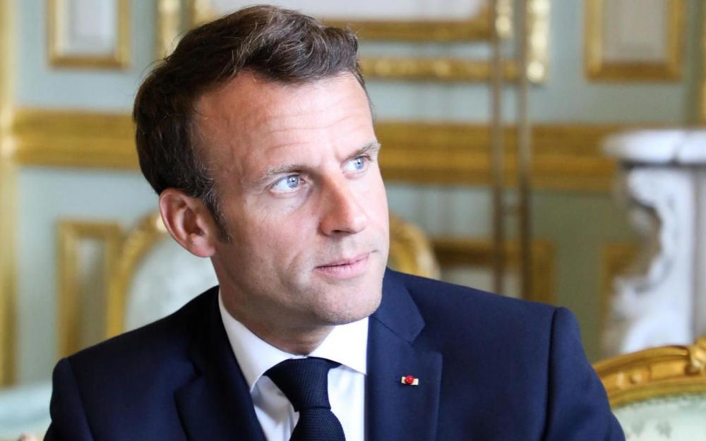 Macron cherche un second souffle européen 80971710