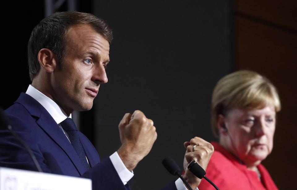 La venue d'Angela Merkel et Emmanuel Macron à Toulouse annoncée pour le 16 octobre 960x1000
