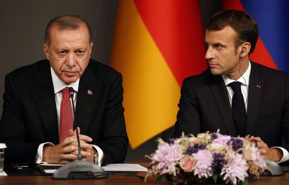 Offensive turque contre les Kurdes : Ankara prend le « risque d'aider Daesh à reconstruire son califat », estime Emmanuel Macron 960x1019