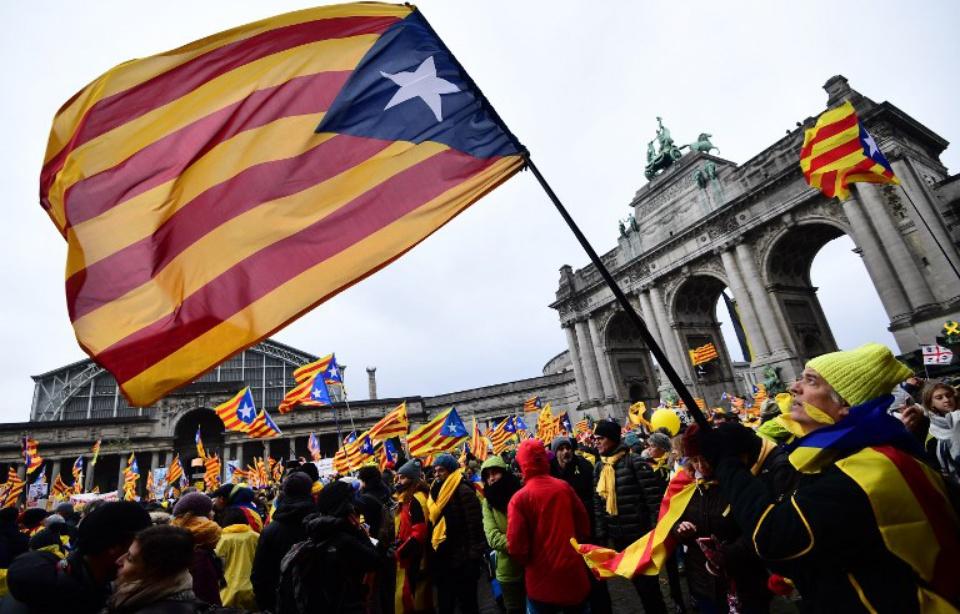Espagne: Le procès historique des dirigeants indépendantistes catalans s'ouvre à Madrid 960x6103