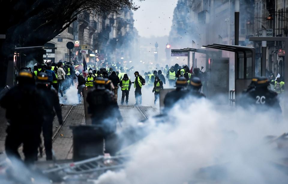 «Gilets jaunes» à Bordeaux: Les dégâts estimés à un million d'euros sur le réseau de tram 960x6123