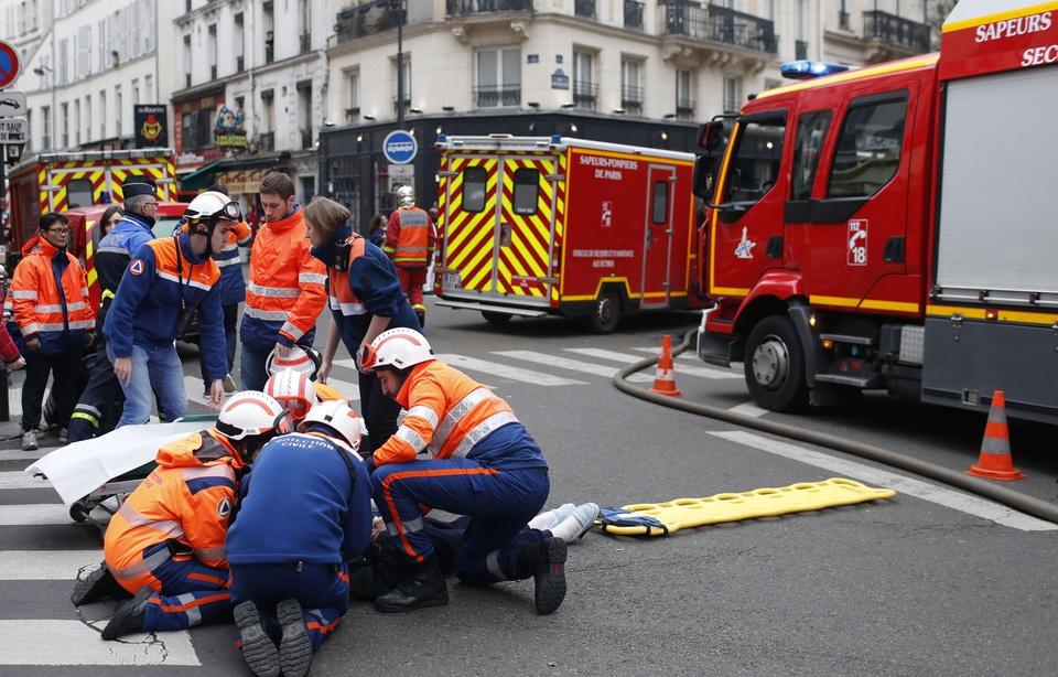 """Explosion d'un immeuble à Paris: """"Ça a soufflé toutes les portes, toutes les vitres, ça a soulevé le lit des enfants"""" 960x6131"""