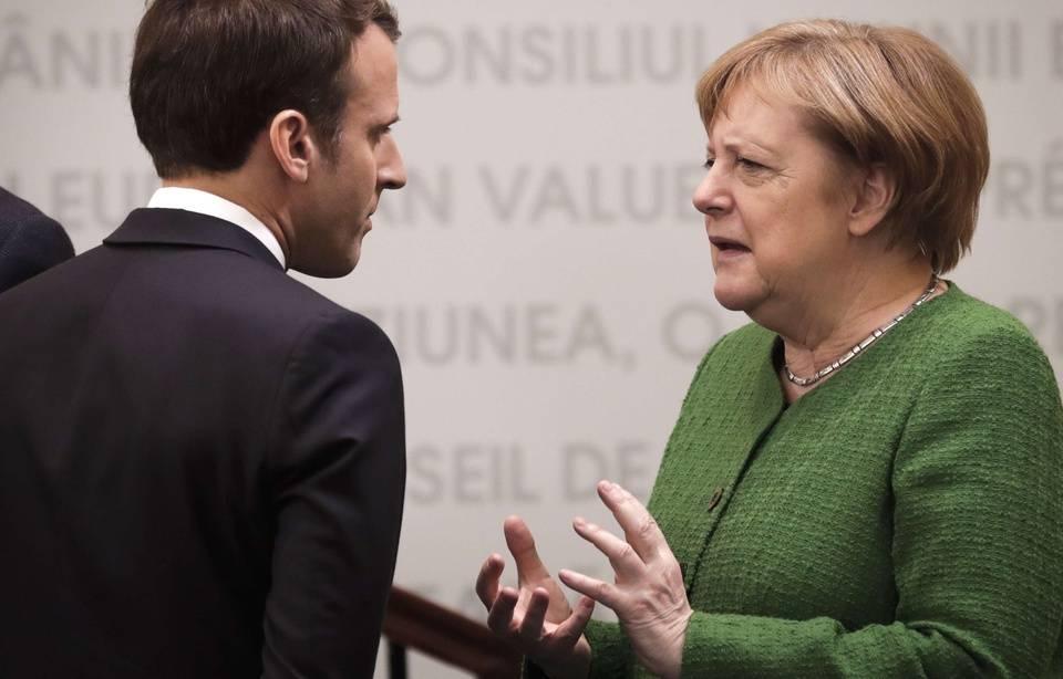 Allemagne: Angela Merkel reconnaît des «confrontations» avec Emmanuel Macron 960x6657