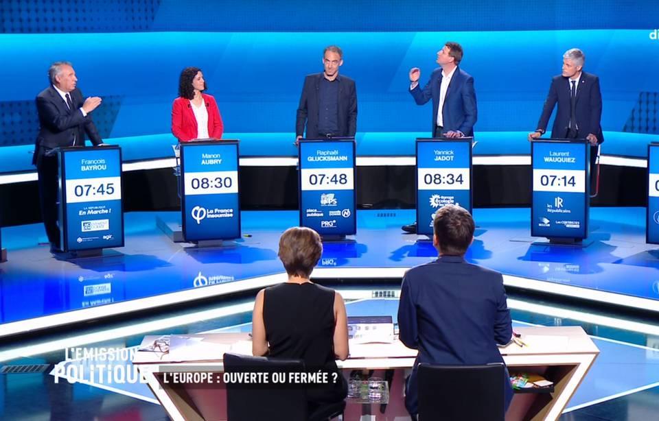 Elections européennes: Ce qu'il faut retenir du débat de France 2 entre les têtes de liste et chefs de partis 960x6702