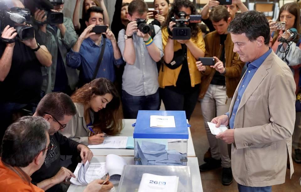 L'échec ultime de Valls aux municipales de Barcelone 960x6719