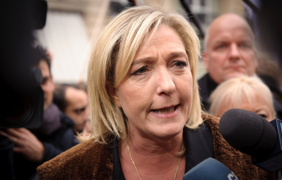 Marine Le Pen vers une mise en examen pour avoir publié un document judiciaire 960x6760