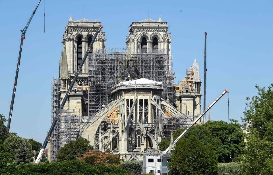 Plomb autour de Notre-Dame: Plus de 160 enfants dépistés depuis l'incendie 960x6873