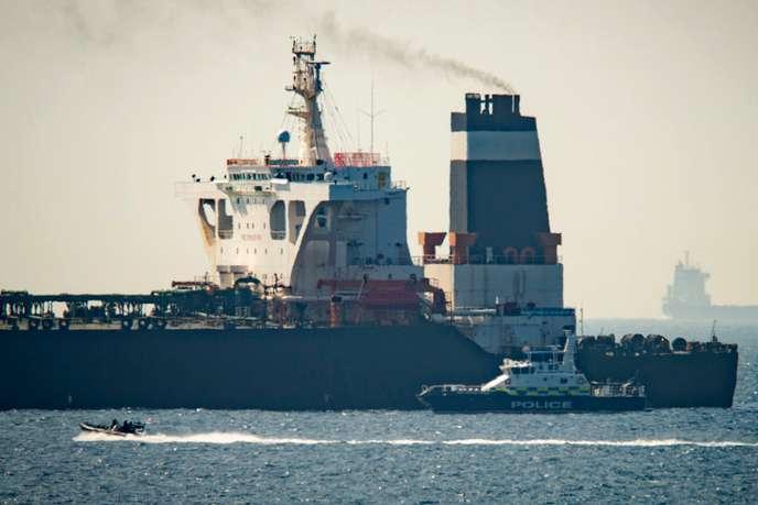 Pétrolier iranien arraisonné au large de Gibraltar : Téhéran dénonce un acte de « piraterie » 978e6010