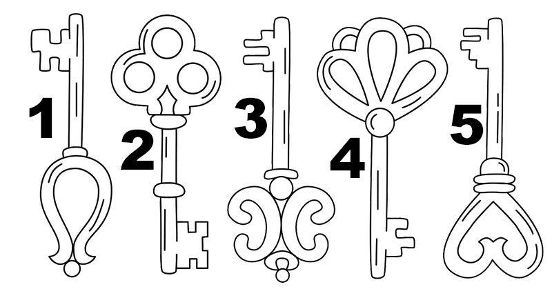 Choisissez l'une des cinq clés pour découvrir le pouvoir caché de votre subconscient Choisi10