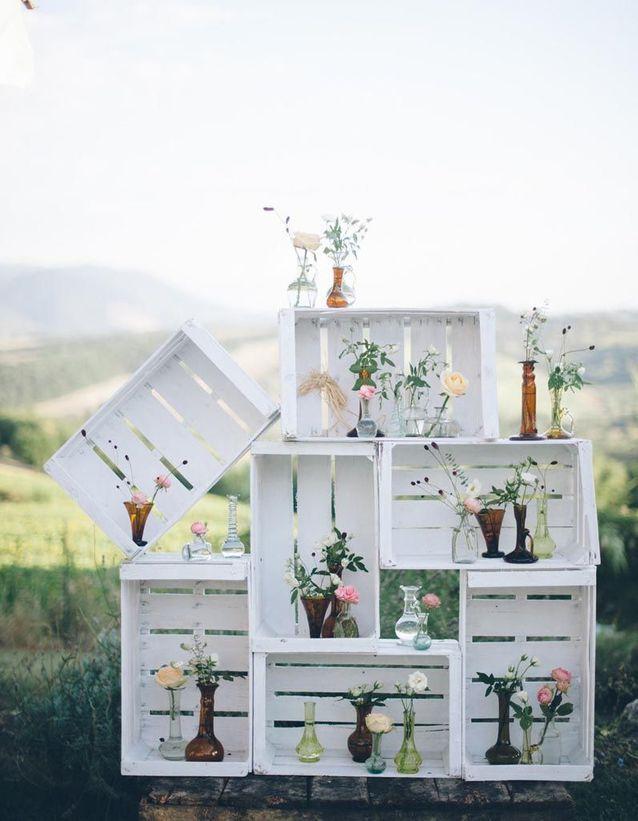Récup au jardin : 20 idées pour décorer sans rien dépenser Des-ca10