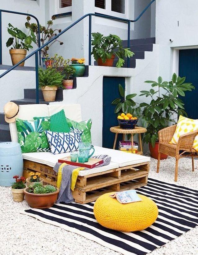 Récup au jardin : 20 idées pour décorer sans rien dépenser Des-pa10