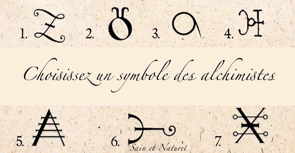 Test de personnalité :découvrez le défi de votre vie actuelle en choisissant un symbole des alchimistes Symbol11