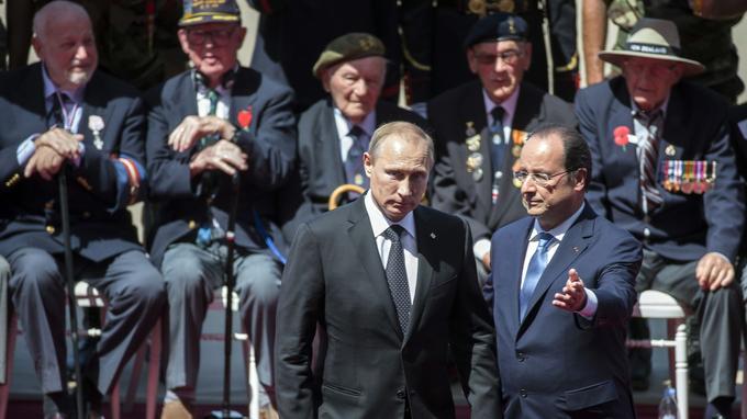 Pourquoi Poutine n'a-t-il pas été invité aux cérémonies du D-Day? Xvmde211