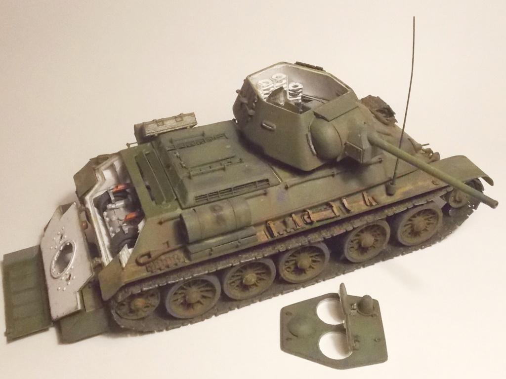 Т-34/76. 1/35. Картон, пластик, пивжесть 1_910