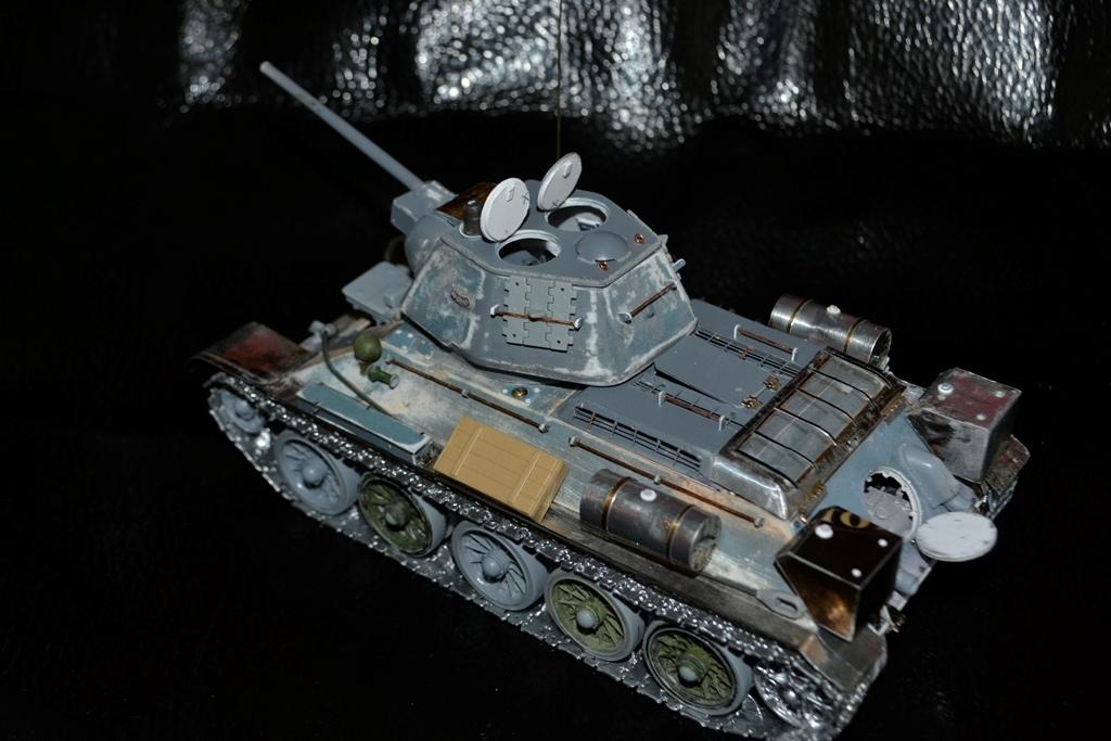Т-34/76. 1/35. Картон, пластик, пивжесть 1uv2ll10