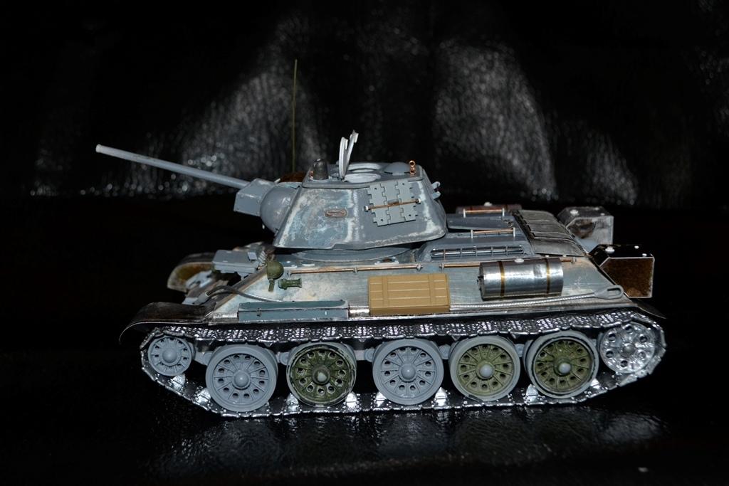 Т-34/76. 1/35. Картон, пластик, пивжесть I-dope10