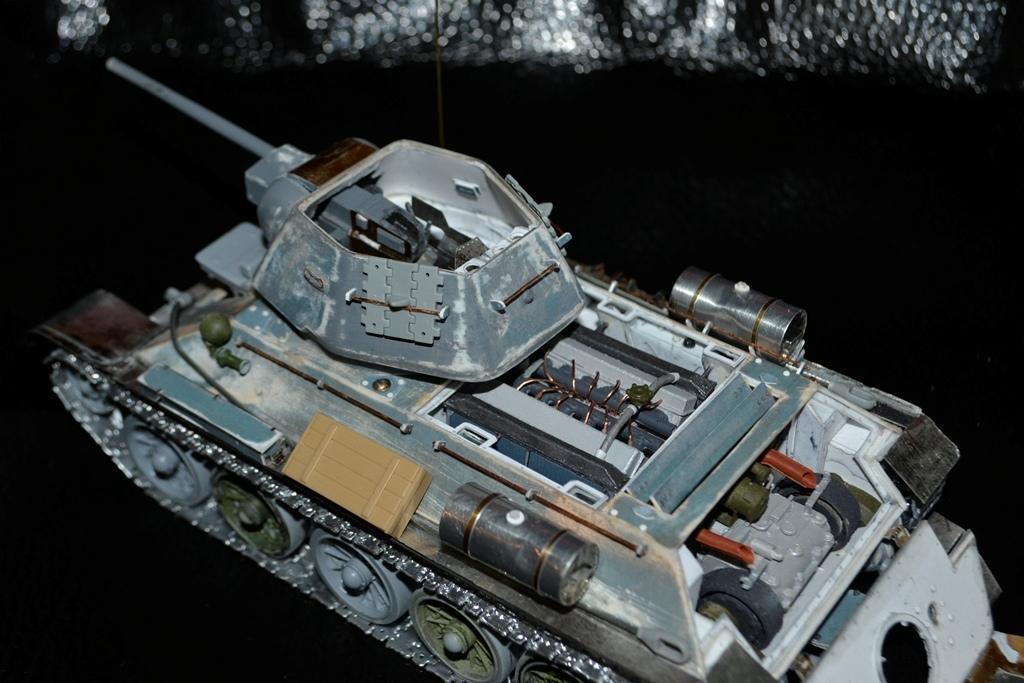 Т-34/76. 1/35. Картон, пластик, пивжесть Lpttap10