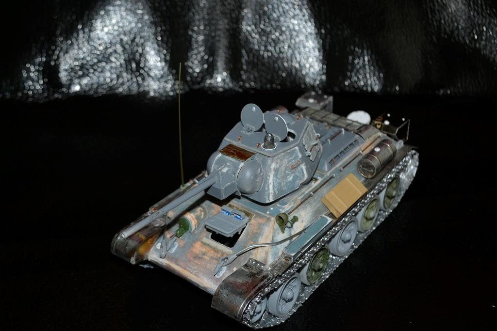 Т-34/76. 1/35. Картон, пластик, пивжесть Wkvkgd10