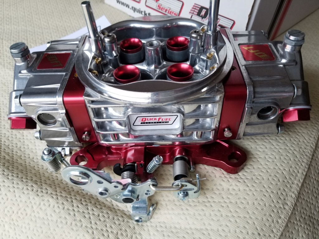 New in box Quick Fuel 1050AN - 4150 style carb 20200212