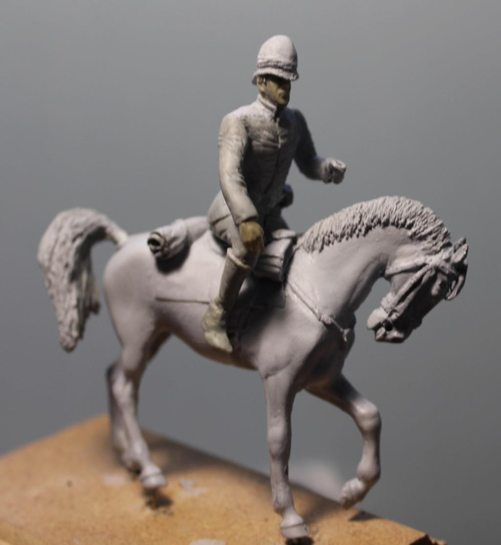 19 th hussard . à Abu Kru 1885 : 1 cavalier à pied+1 cavalier à cheval ( création) 1110