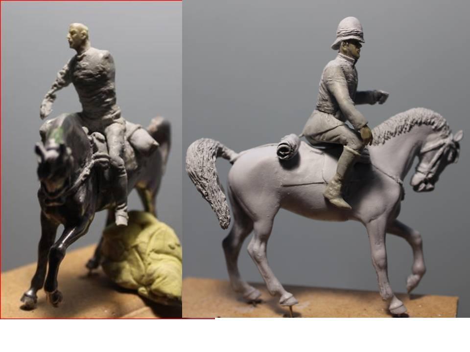 19 th hussard . à Abu Kru 1885 : 1 cavalier à pied+1 cavalier à cheval ( création) 19th_p11