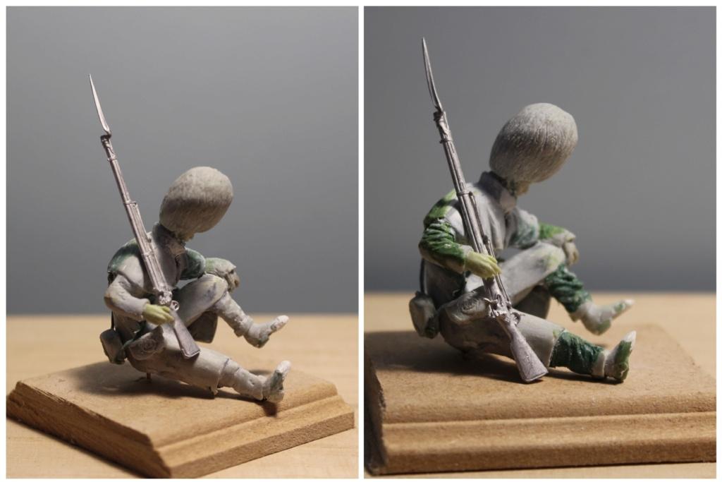 """Inkerman 1854 : 1er grenadier guards""  version 1 à version 3 Blessz10"